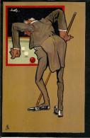 Billard. Art Card. Ed. J.V.A. - Cartoline