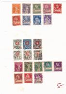 #131    SWITZERLAND, 23 X STAMPS, USED. - 1882-1906 Armoiries, Helvetia Debout & UPU