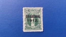 BOLIVIA 1912 ALEGORIA OVERPRINT - Bolivia