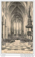 LIEGE ..-- Cathédrale St-Paul ..-- 1909  Vers GESPUNSART ( Melle Zoé VASSEUR ) . Voir Verso . - Liege