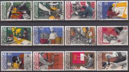 Liechtenstein 1984 Nº 790/01 Usado - Liechtenstein