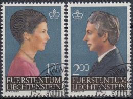 Liechtenstein 1984 Nº 802/03 Usado - Liechtenstein