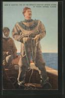 AK Tarpon Springs, John M. Gonatos, One Of The World's Greatest Sponge Divers, Taucher - Pêche