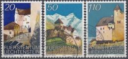 Liechtenstein 1986 Nº 837/39 Usado - Liechtenstein