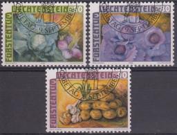 Liechtenstein 1986 Nº 845/47 Usado - Liechtenstein