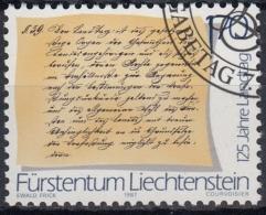 Liechtenstein 1987 Nº 870 Usado - Liechtenstein