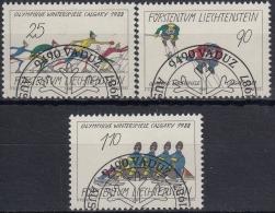 Liechtenstein 1987 Nº 875/77 Usado - Liechtenstein