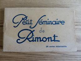 Carnet 24 CPA-Petit Séminaire De Rimont - Francia