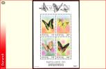 Burundi BL 0132** Papillons -  MNH