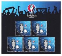 Bloc 3D - UEFA Euuro 2016- Salon Philex 2016 - Neufs
