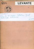 LEVANT COLLECTION COLECCION PLUS DE  € 2600 COTATION YVERT  VOIR SCANS ZTU. KERASSUNDE MONT ATHOS