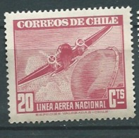 Chili Poste Aérienne - Yvert N°54*  - Abc7805 - Chile
