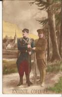 5484. CPA GUERRE 14 18 WW1. ENTENTE CORDIALE - Patriotiques