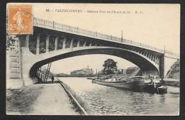 VALENCIENNES Nouveau Pont Chemin De Fer Péniche (Cailteux) Nord (59) - Valenciennes