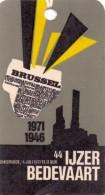 Etiket  - 44° Ijzerbedevaart  Diksmuide  - 1971 - Documentos Antiguos