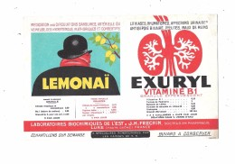 Buvard Thème Pharmacie : LEMONAI - P