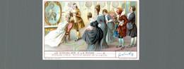 Cromo Liebig  LE CHEVALIER A LA ROSE  2 - Liebig