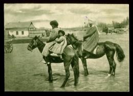 Kyrgyz Horse Rider Frunze Bishkek Kyrgyzstan RARE - Kirghizistan