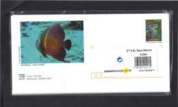 5 Entiers Enveloppes Illustrées Et Cartes Assorties . Les Trésors De La Martinique : La Faune Sous-marine . Blister Ferm - Biglietto Postale