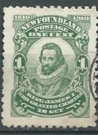 Terre Neuve  - Yvert N°72  Oblitéré   - Abc7908 - 1908-1947
