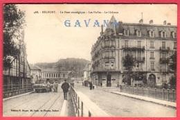 90 BELFORT - Le Pont Stratégique - Les Halles - Le Chateau - Belfort - Ville