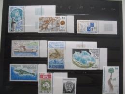 Lot  TAAF Y/T N° 155 à 193 Côte 106.30 €  Année 1990 à 1994 - Franse Zuidelijke En Antarctische Gebieden (TAAF)