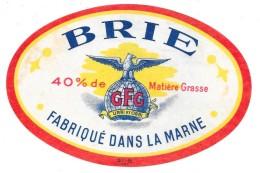 BRIE  Fabriqué Dans La MARNE - Cheese