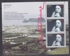 Europa Cept 1996 Azores Ms ** Mnh (31645) @ Below Face - Europa-CEPT