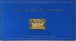 FRANCE 3 ème TIMBRE DE LA COLLECTION DU BICENTENAIRE LE N°444 LE SERMENT DU JEU DE PAUME D'APRES DAVID - Franz. Revolution