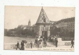 G-I-E , Cp , SUISSE , BASEL , Käpelijoch Mit Blick Auf Münster Und Platz , Vierge , Ed : Phot. Franco Suisse , N° 3123 - BS Bâle-Ville