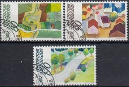 Liechtenstein 1988 Nº 880/82 Usado - Liechtenstein