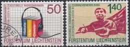 Liechtenstein 1988 Nº 886/87 Usado - Liechtenstein