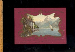 Album Von Vierwaldstaettersee Souvenir Du Lac Des Quatre Cantons Luzern Weggie Vitznau Rigi Beckenried Gersau Treib ... - Suisse