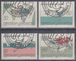 Liechtenstein 1988 Nº 888/91 Usado - Liechtenstein