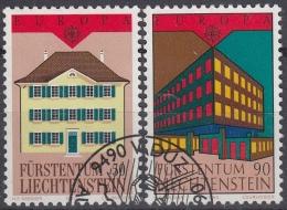 Liechtenstein 1990 Nº 925/26 Usado - Liechtenstein