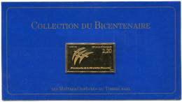 FRANCE 25 ème TIMBRE DE LA COLLECTION DU BICENTENAIRE LE N°2560 FOLON BICENTENAIRE DE LA REVOLUTION - Franz. Revolution