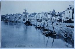 CPA 44 Le POULIGUEN Le Port Voilier Belle Carte - Le Pouliguen