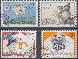Liechtenstein 1992 Nº 982/85 Usado - Liechtenstein