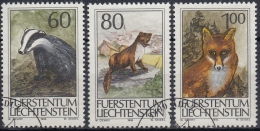 Liechtenstein 1993 Nº 1007/09 Usado - Liechtenstein