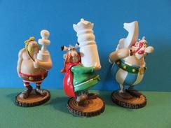 015 - Figurines - Plastoy - Obélix-Abraracourcix-Monosyllabix - Asterix & Obelix