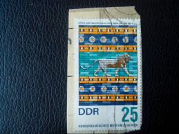 RARE 25 DDR MARKE MUSEUM GERMANY BERLIN RECOMMENDET PACKAGE-LETTRE STAMP ON PAPER COVER USED SEAL - [6] Democratic Republic
