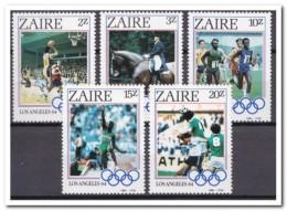 Zaïre 1984, Postfris MNH, Olympics - Zaïre