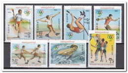 Cambodja 1984, Postfris MNH, Olympics - Cambodja