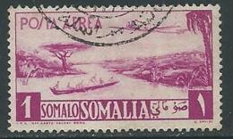 1950-51 SOMALIA AFIS POSTA AEREA USATO 1 S - P3-4 - Somalia (AFIS)