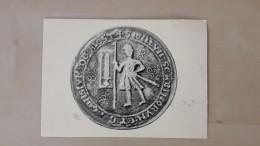 Oudst Gekend Stadszegel Van Aalst (1287) - Aalst