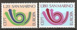 San Marino 1973 // Mi. 1029/1030 ** (024..499) - Ungebraucht