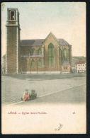 LIEGE-  BELGIQUE -  Eglise Saint-Pholien -Au Verso  Dessin Exposition  Universelle  Internationale 1905- Paypal Sans Fra - Trooz