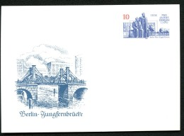 MARX-ENGELS-FORUM BERLIN DDR P96 Postkarte 1987 - Karl Marx