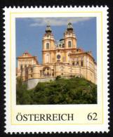 ÖSTERREICH 2014 ** Stift Melk, Benediktinerkloster, Errichtet Von Jakob Prandtauer - PM Personalisierte Marke - MNH - Private Stamps