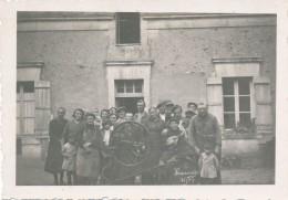 Lot De 4 Photos Anciennes Vendanges 1937 à Murs-Erigné - Lieux
